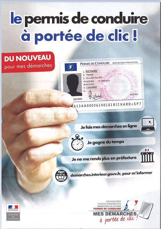 Le permis de conduire à porter de clic